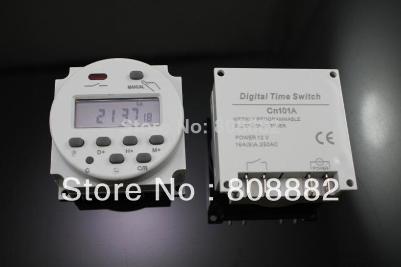 AC 220V Digital LCD Power Programmable Timer Time Switch Relay 16A GOOD * - suki N's store