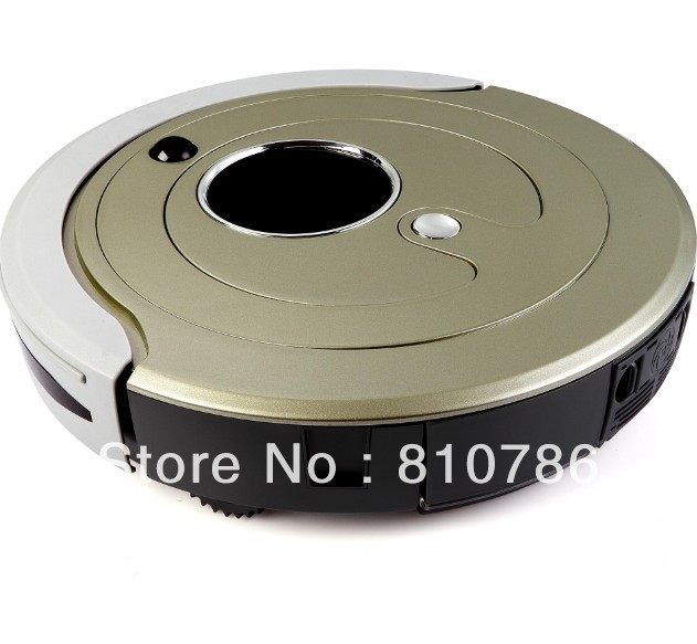 (EMS to Russian)Most Advanced Robot  Vacuum Cleaner Li-ion Battery,Schedule,2 Side Brush,Day and Night Recognition,Self Recharge(China (Mainland))