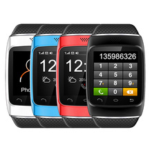Hot Selling Four Choices ZGPAX S12 1.54-inch Touch Screen MTK6260 Bluetooth Smart Watch Phone Free Shipping