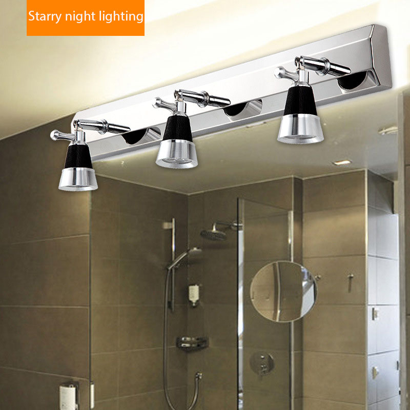 Koop 2 3 stekkers moderne rvs badkamer - Lamparas para espejo de bano ...