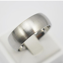Unisex Classic Fashion Stainless Steel Jewelry Comfort Fit Ring Plain Men Women Silver Rings Size 15 6 6.75 7 8 9 10 11 12.5