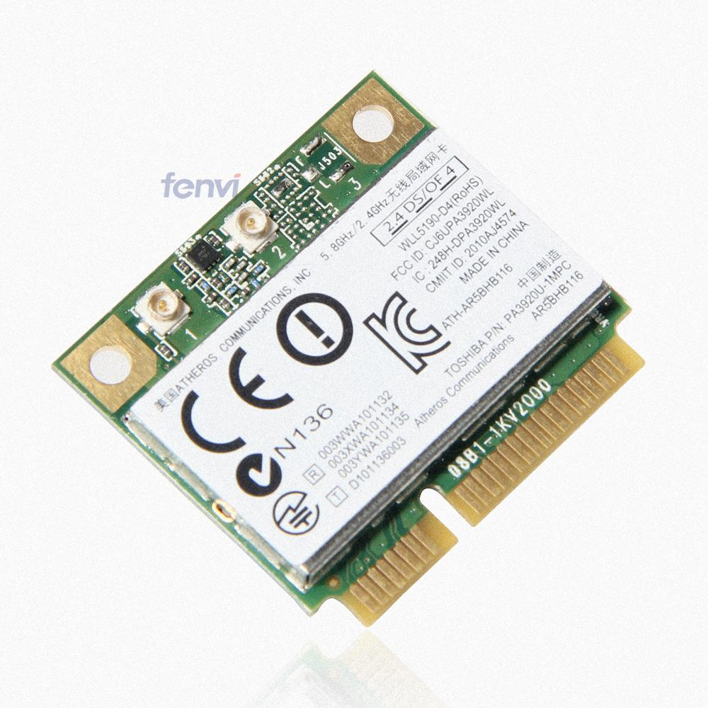 pcie flash card picture more detailed picture about atheros atheros ar9832 ar5bhb116 dual band 300mbps wireless wifi half mini pci e card 2 4ghz