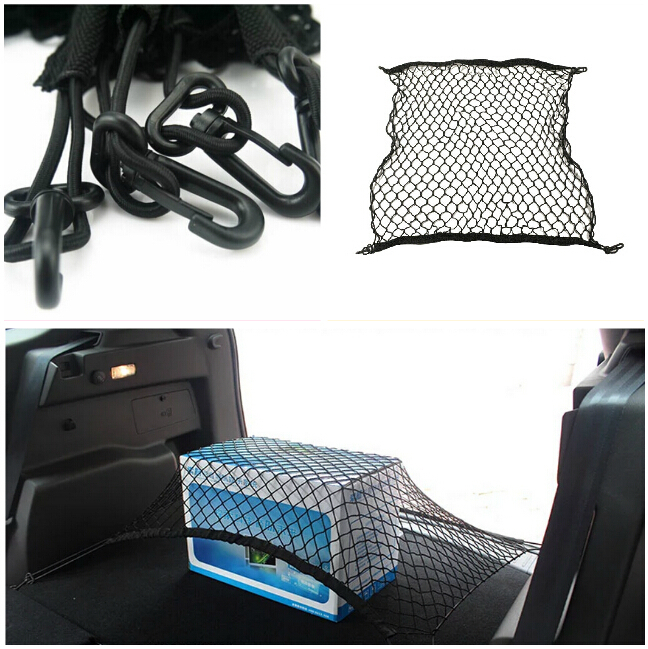 For Volvo XC90 S60 S80 S40 V70 XC60 Lifan 620 lifan x60 fiat 500 Trunk string bag carrying network car accessories car styling(China (Mainland))
