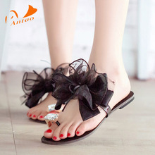 2016 Spring And Summer New Ladies Comfortable Large Size Rome Style Flat Sandals Soft Sexy Beautiful Sandals Shoes Woman