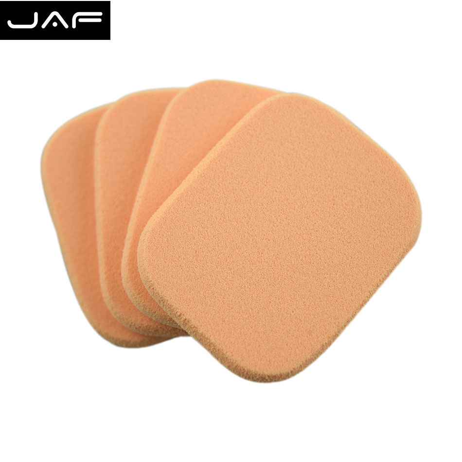 4 piece Retail Facial Face foundation Sponge Makeup Cosmetic Powder Puff New FPF01-P - JAF Beauty Supply Factory store