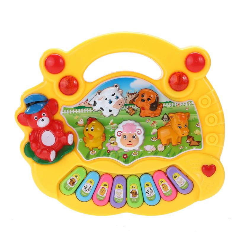 Baby Electronic Music Musical Developmental Animal Farm Piano Sound Educational Toy Children Gifts(China (Mainland))
