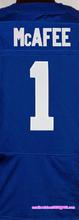 Men's #1 Pat McAfee #12 Andrew Luck #13 Hilton #23 Frank Goreed #93 Erik Walden elite jerseys, Blue White(China (Mainland))
