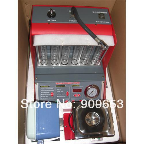 Top Selling Best Quality launch Original CNC602A CNC 602A Injector Cleaner & Tester cnc 602 a English Panel cnc-602 a DHL free(China (Mainland))