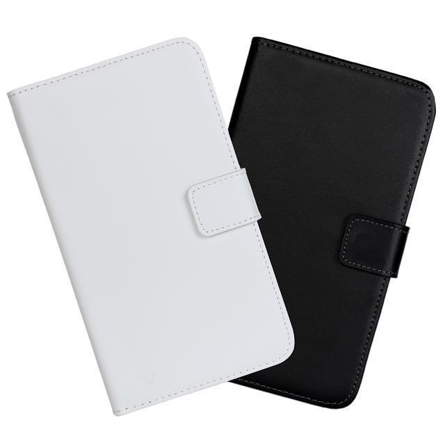 New For Samsung Galaxy Note I9220 Case Stand Genuine leather Wallet Back Cover Phone Cases with Card Holder Black White(China (Mainland))