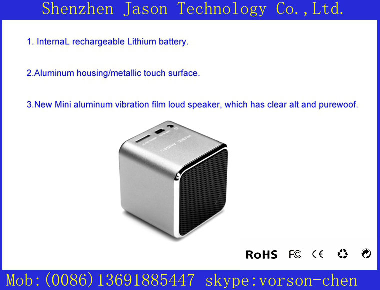 cheap modern computer 3.5mm jack mobile mini speakers with subwoofer(China (Mainland))