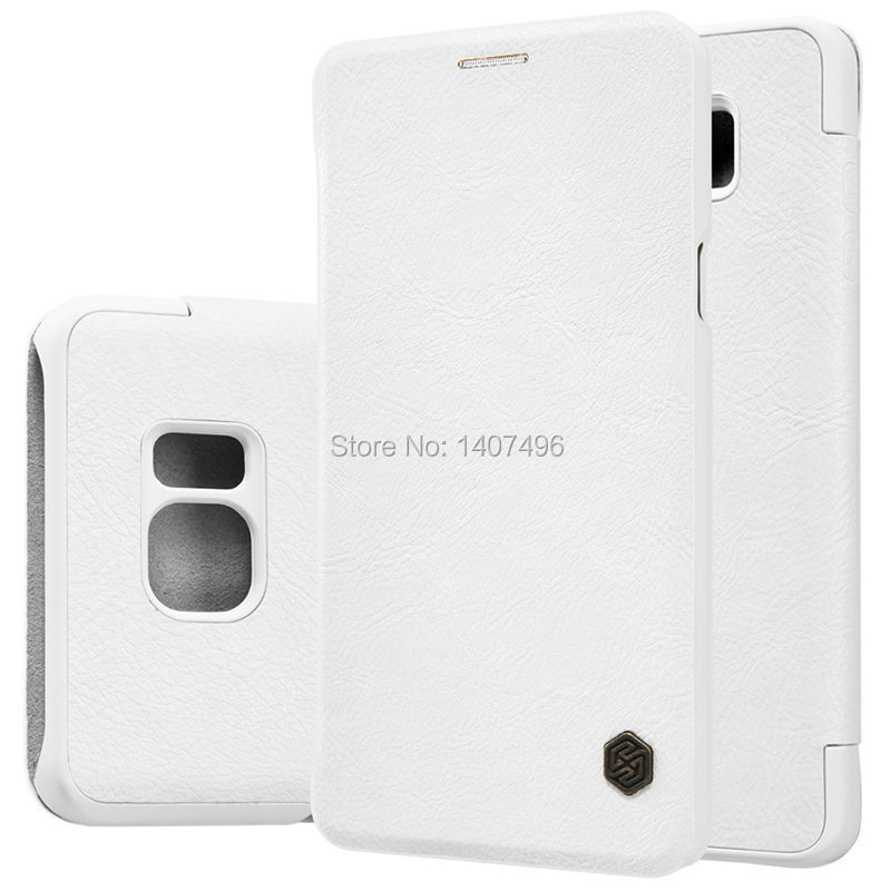 Original Nillkin Qin leather case protect Phone Flip protective cover stock Samsung Galaxy Note5(N920) - M & Group CO.,LTD store