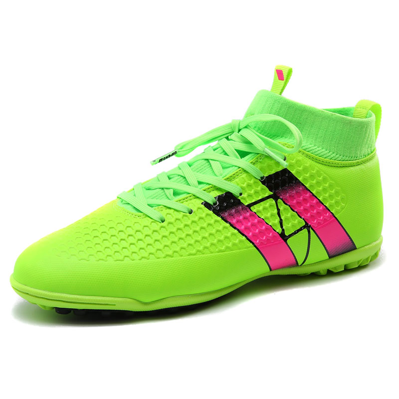 Free 2016 Fly indoor futsal soccer boots sneakers men Cheap soccer cleats superfly original football with ankle boots high hall(China (Mainland))