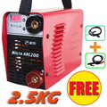 220V 2 5KG current digital display MIcro ARC200 3 2MM electrode IGBT inverter DC welding machine