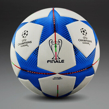 Newest 2016 Champions League Soccer Ball Berlin Wembley Soccer Ball Premier League Football granule slip-resistant Football(China (Mainland))