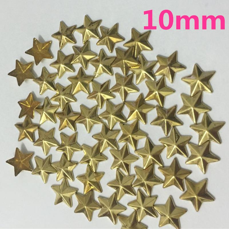 100pcs/lot 10mm Shining star design hot fix rhinestone Heat transfer design rhinestone motif Embellishment for garment(China (Mainland))