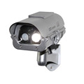 Solar Simulation Camera Dummy Fake Surveillance CCTV Security with flashlight And Motion Detector bullet cabera FC