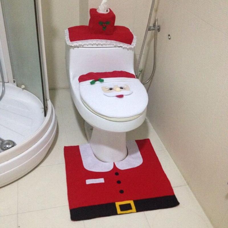 christmas bathroom sets  delonho, Bathroom decor