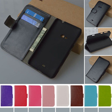 For Lumia 625 Wallet PU Leather Stand Flip Case for Nokia Lumia 625 Cover Phone Bag XL/720/820/830/N8/730/X2/640/532/430/550/650(China (Mainland))