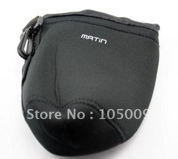 M Neoprene Soft Pouch Case Bag f DSLR Camera Lens