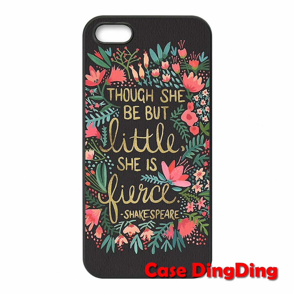 Little Fierce on Charcoal For iPhone 4 4S 5 5C SE 6 6S Plus Apple iPod Touch 4 5 6 Moto X1 Cell over Case(China (Mainland))