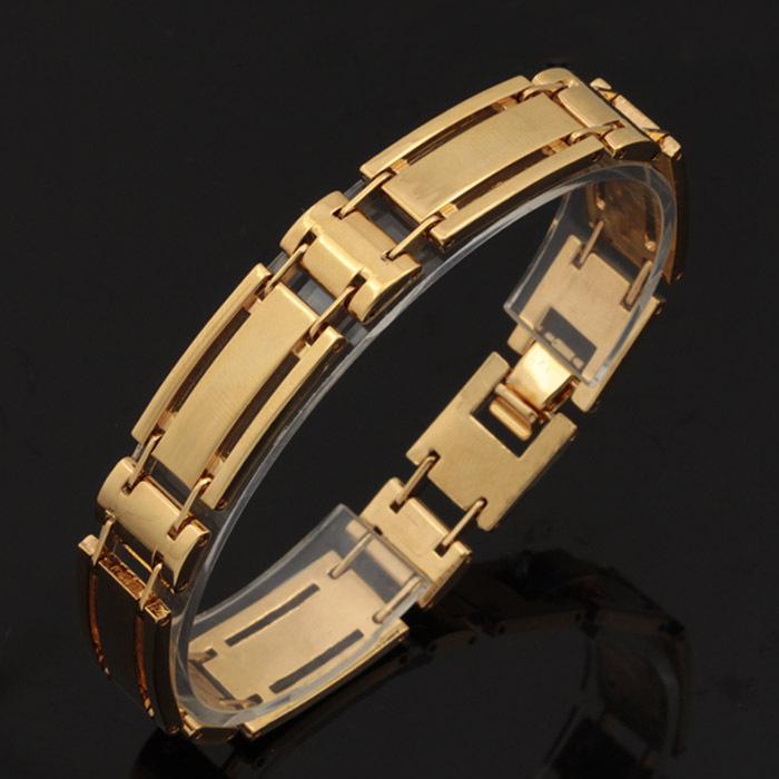 2014 New Luxury Bangles Fashion Jewelry Free Shipping Women Gift 18K Real Gold Plated Lockable Bracelets H426(China (Mainland))