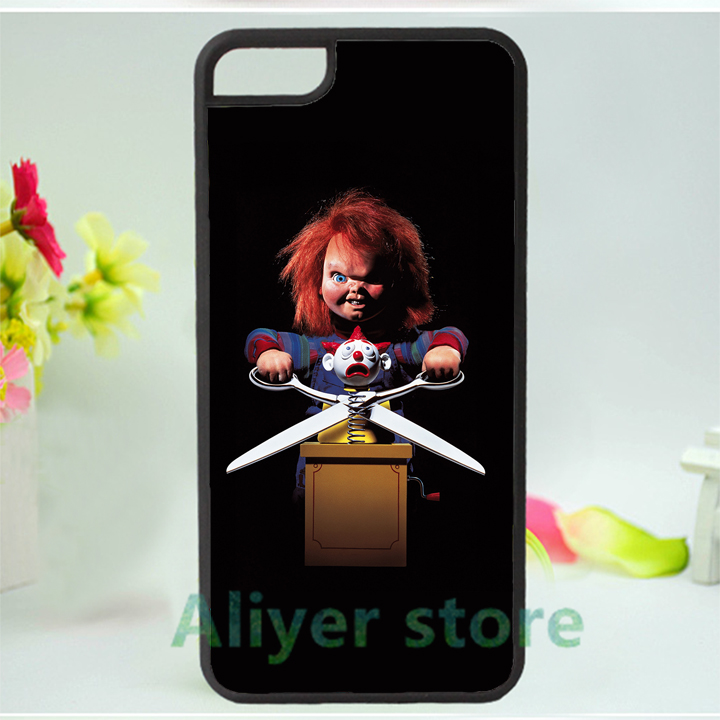 Chucky Doll 10 cell phone case best material cover for iphone 4 4s 5 5s 5c SE 6 6s & 6 plus 6s plus #K108(China (Mainland))