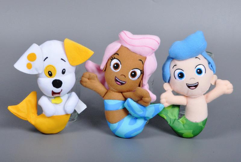 2016 Original Bubble Guppies Plush Toy Cartoon Bubble Puppy Molly Gil stuffed doll Sweet dog fish pet shop kids toys Plush Toy(China (Mainland))