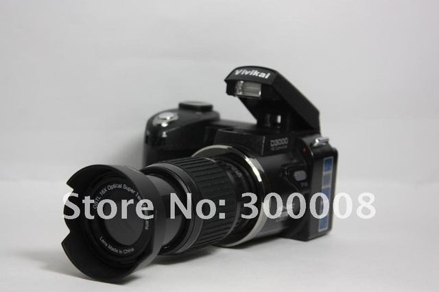 2012 newest digital slr Camera digital video camcorder Voice recorder with 16.0MP 3.0 TFT display,support to 32GB sd card