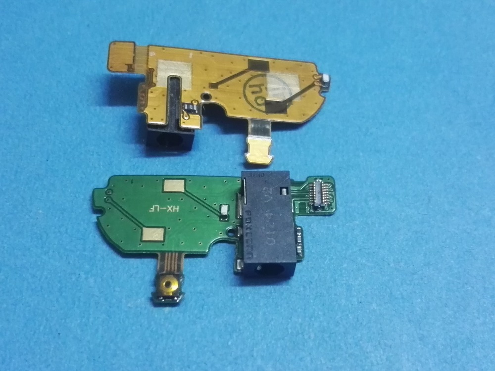 Earphone Headphone Audio Jack connector Flex Cable Ribbon For Nokia N97MINI N97 mini Power On Off side key button Free Shipping(China (Mainland))