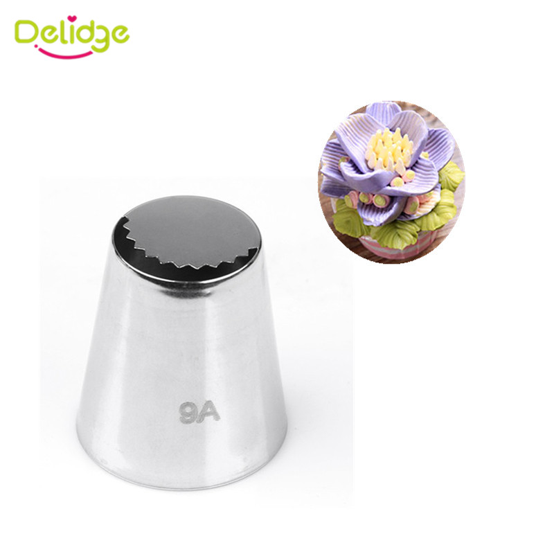 Types Of Cake Decorating Nozzles : Aliexpress.com : Buy Delidge 1PC Russia Ice Piping Nozzle ...