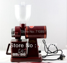 NEW ARRIVAL 220V coffee grinder machine coffee mill with plug adapter free shipping to some countries(China (Mainland))