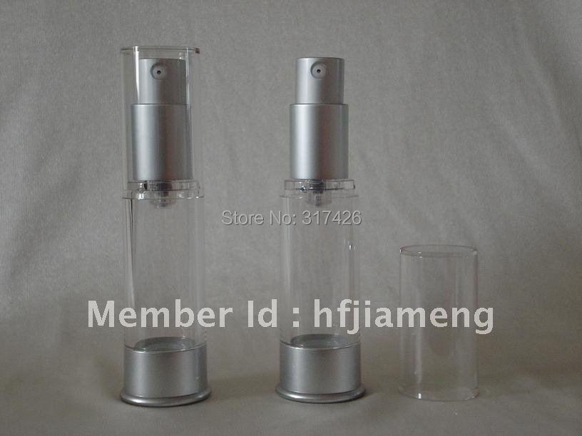 Free Shipping- 15ML airless bottle,airless pump,vacuum bottle(China (Mainland))
