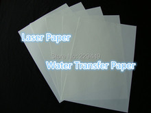 (A3*30 sheets)  A3 Clear Transparent Printing Paper Laser Water Slide Decal Paper Water Transfer Paper For Glass Freeshipping(China (Mainland))
