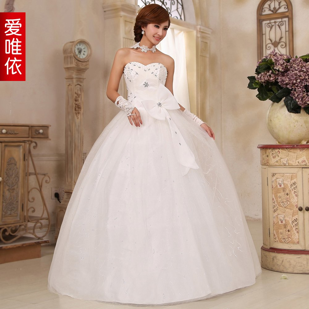 free shipping fashion sexy diamond big bowknot wedding