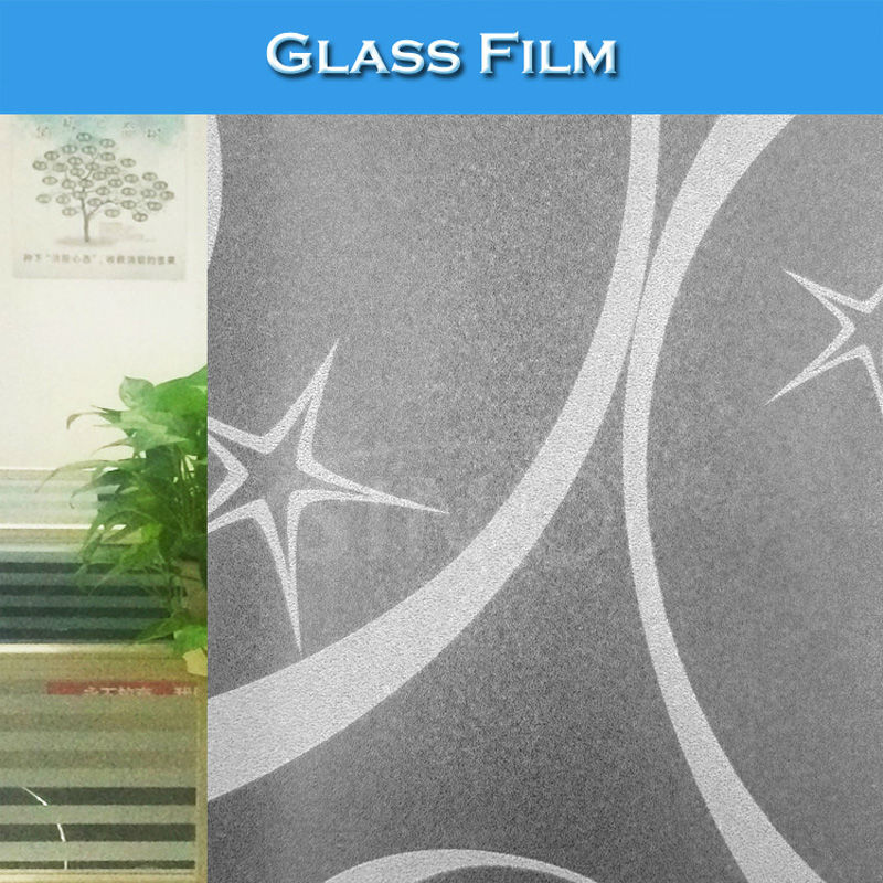 S029 Good Flatness 120 Micron Colored Print Glass Film Designs(China (Mainland))