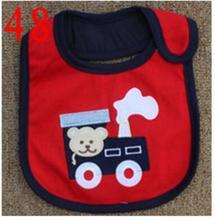 Baby Bibs Cotton Bandana Bibs Infant Babador Saliva Bavoir Towel baberos bebes Babadores Newborn Baby Girls Boys 2pcs/lot  xwd48