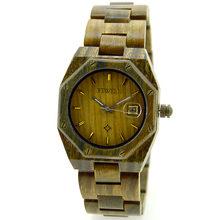 Relojes BEWELL de marca de lujo para hombre, relojes de sándalo a prueba de agua, reloj de pulsera gótico de cuarzo completo para hombre, reloj Masculino 099A(China)