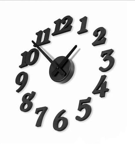 1pc/lot New Art Modern Design Home Decor Wall Clock Interior Decoration Clock NQ670108(China (Mainland))