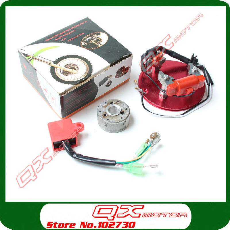 High Performance Racing Magneto Coil Stator For 50 70 90 110 125cc Horizontal font b Engines