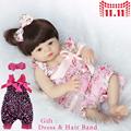 20″ reborn dolls infants handmade prime quality silicone free reborn dolls material physique baby boy love present bonecas reborn