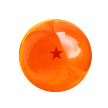 7.6 CM Diameter Anime Dragon Big Size Ball Acrylic Crystal Transparent Balls Children Toy Can Choose Star Action & Toy Figures(China (Mainland))