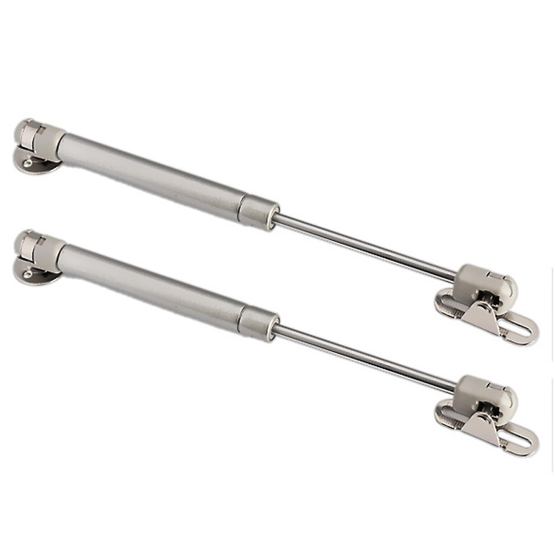 100N /10kg Force Door Lift Support Furniture Gas Spring Cabinet Door Kitchen Cupboard Hinges Lid Stays Soft Open/Close(China (Mainland))