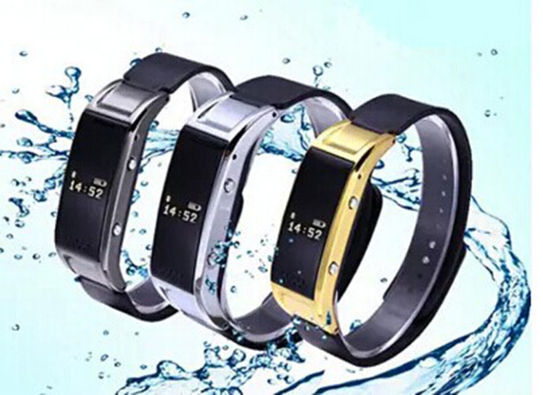 Bluetooth Smart Phone Watch Bracelet Smartphone Smartband Mate Sync Call SMS /Pedometer/Sleep Monitor/ Anti-lost for Android IOS