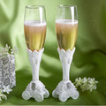 Newest 2pcs Cinderella s pumpkin carriage glass wedding Champagne Glass cup set red wine flutes for