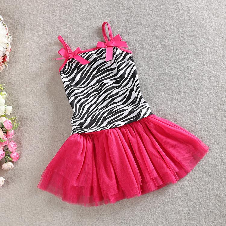 Girls baby Suit Zebra Strap vest + short skirt set wholesale<br><br>Aliexpress