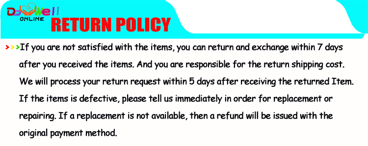 H. RETURN POLICY-1