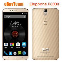 Original Elephone P8000 4G LTE Mobile Phone MTK6753 Octa Core 5.5″ FHD 3GB RAM 16GB ROM Android 5.1 16MP 4200mAH Smartphone