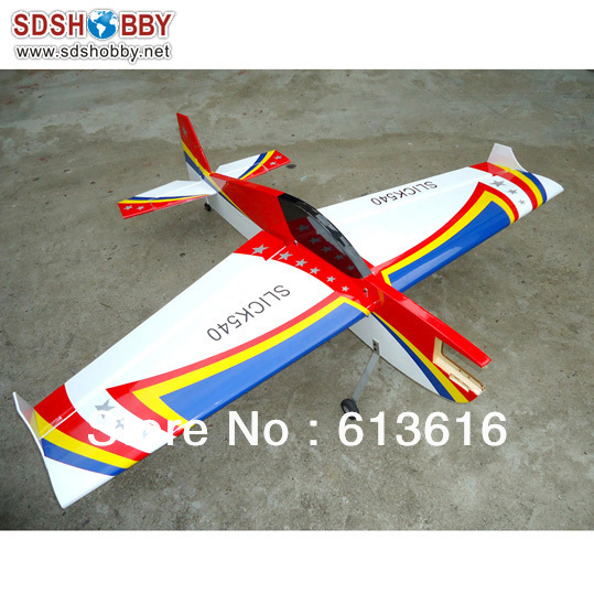 65in slick540 20cc RC Gasoline Profile Airplane/ 90 Grade Nitro Profile Airplane/Electric Profile Airplane (Nine Stars on Wing)(China (Mainland))
