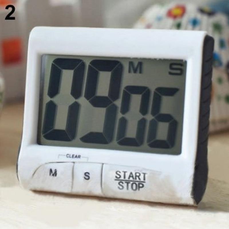 buy large lcd novel digital kitchen timer count down up cloc. Black Bedroom Furniture Sets. Home Design Ideas