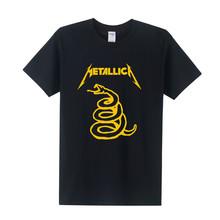 Buy Heavy Thrash Metal Rock MeTallica T Shirts Men Rock Roll T-shirt Short Sleeve Cotton Band T-Shirt Camisetas Masculina OT-023 for $8.69 in AliExpress store